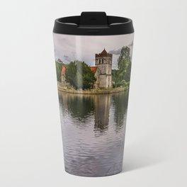 The River Thames At Bisham Travel Mug