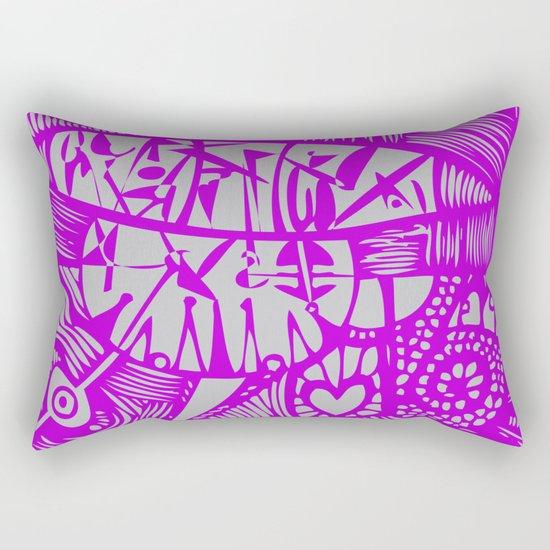 INK#8 Dawn Dance  Rectangular Pillow
