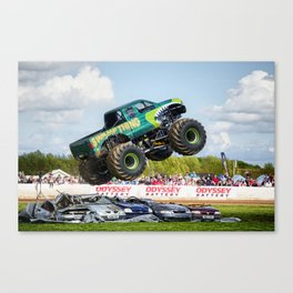 Swamp Thing airborne Canvas Print