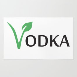 Vodka is Vegan Rug