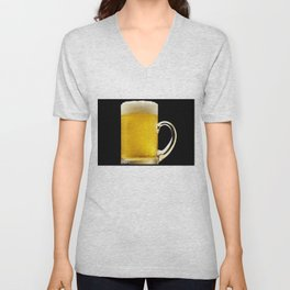 Foamy Beer Mug Unisex V-Neck