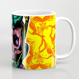 Face helmet Color Coffee Mug