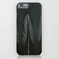 Three Mono Cockeral Feathers Slim Case iPhone 6s