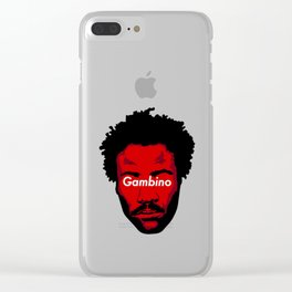 Childish Gambino Clear iPhone Case
