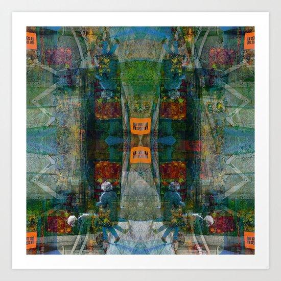 Wednesday 10 April 2013: mixtures initiate obstructive isolationist tweaks: Art Print