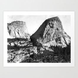 Broderick Liberty Cap Yosemite Art Print