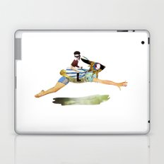 riding the rabbit Laptop & iPad Skin