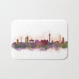 Berlin City Skyline HQ1 Bath Mat