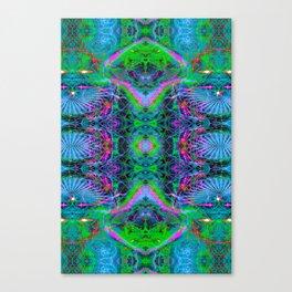 Techno Electric V (Ultraviolet) Canvas Print