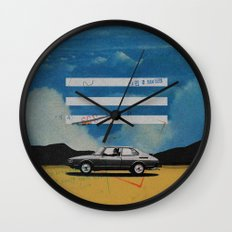W. Rong | Collage Wall Clock
