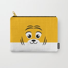 Baby Tiger. Kids & Puppies Carry-All Pouch