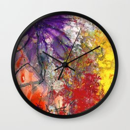 With Expressions Wall Clock