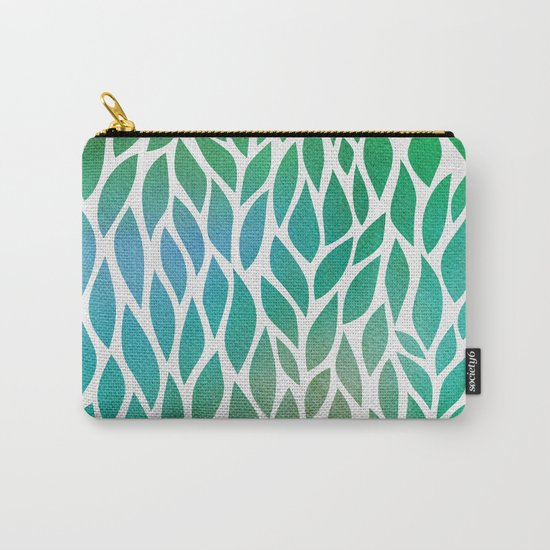 Petals Pattern #2 Carry-All Pouch