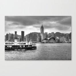 Ferry & Sky Canvas Print