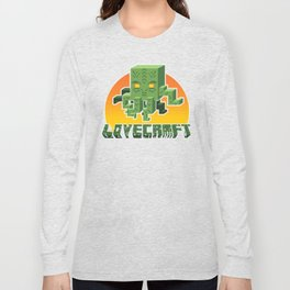 Minecraftian Long Sleeve T-shirt