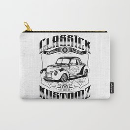 Hot Rod - Classick Kustomz (black) Carry-All Pouch