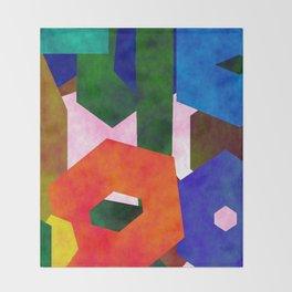 Retro Artistic Pattern Throw Blanket