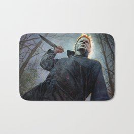Micheal mayers halloween Bath Mat