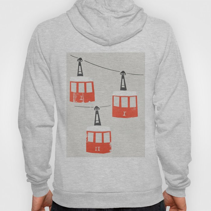 Barcelona Cable Cars Hoody