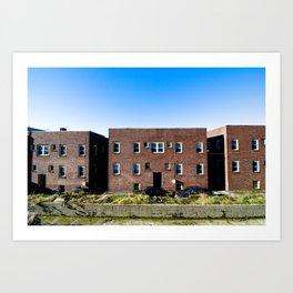 building (one) Art Print
