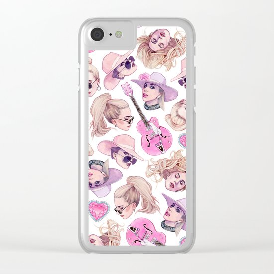 Joanne Vibes Clear iPhone Case