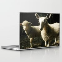 silence of the lambs Laptop & iPad Skins featuring Lambs by Kaila Braley