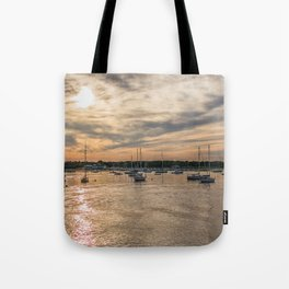 Hyannis sunset Tote Bag
