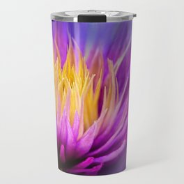 Clematis on Fire Travel Mug