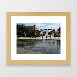 Water Jellies Framed Art Print