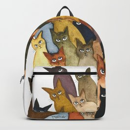 Many Whimsical Cats Backpack