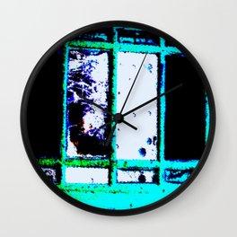Wreck Wall Clock