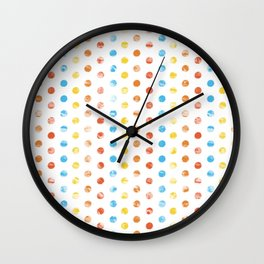 GeoPattern 01 Wall Clock