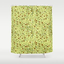For the Love of Tea Shower Curtain