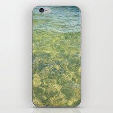 water ripples iPhone & iPod Skin