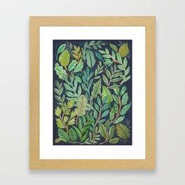 To The Forest Floor Framed Art Print
