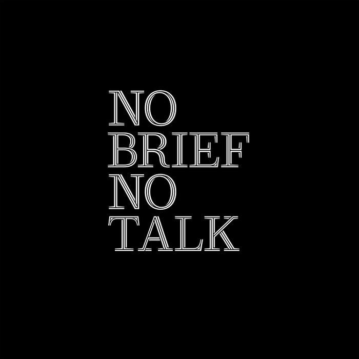 no brief no talk Duvet Cover