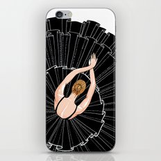 Black Ballerina iPhone & iPod Skin