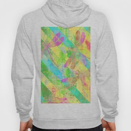 A Dragonflies and Stripes Y Hoody