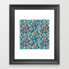 At the Botanical Gardens Framed Art Print