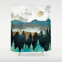 Forest Mist Shower Curtain
