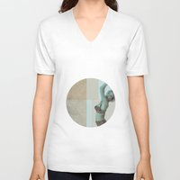 marilyn V-neck T-shirts featuring marilyn  by Rosa Picnic