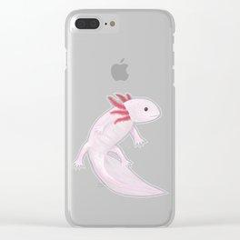 Axolotl Clear iPhone Case