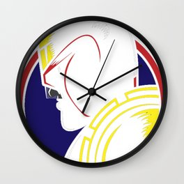 Judge_ Jury _ Executioner Wall Clock