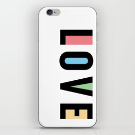 Rx LOVE in COLOUR iPhone Skin