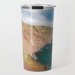 Santa Maria island Travel Mug