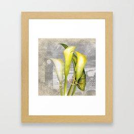Macro Flower #8 Framed Art Print