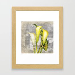 Macro Flower #8 Framed Art Print