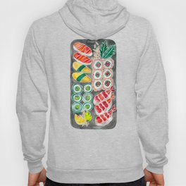 Sushi Collection – Black Platter Hoody