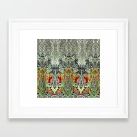 paisley Framed Art Prints featuring Paisley by BellagioVista