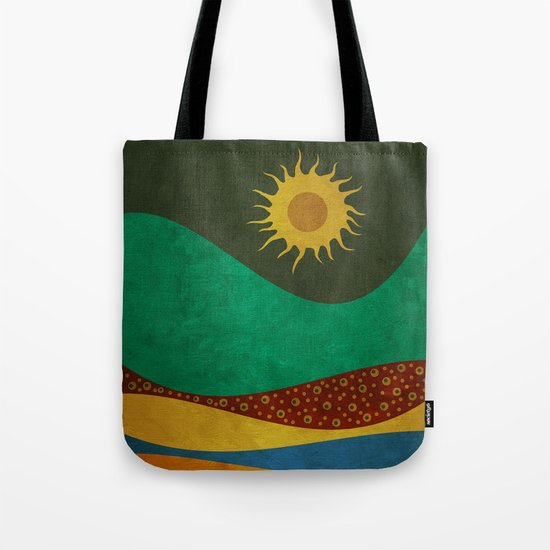 color under the sun (III) Tote Bag